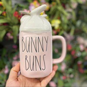 rae dunn bunny buns mug
